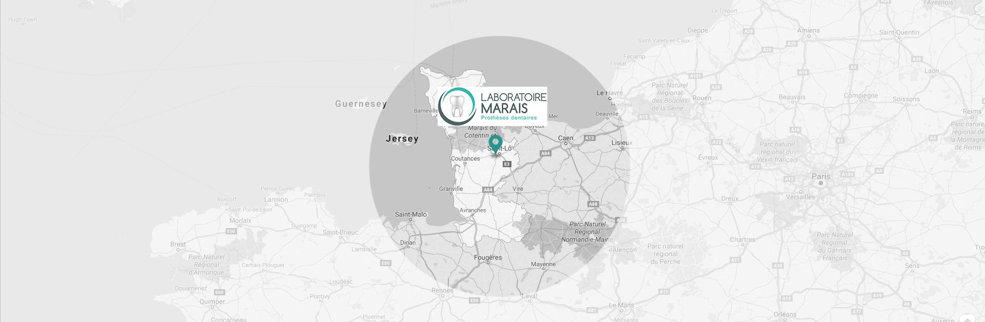 Le Laboratoire Jehenne - Marais est spécialisé dans la fabrication de prothèses dentaires à Agneaux, dans le département de la Manche.